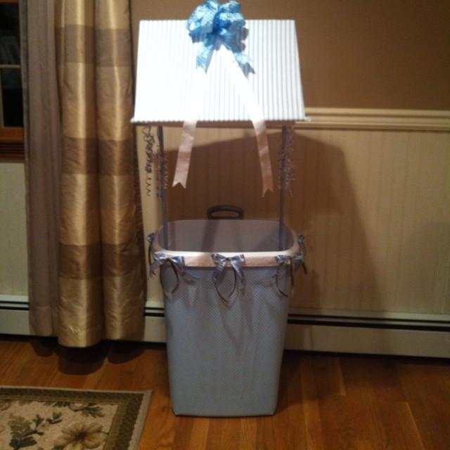 Baby Shower Wishing Well Gift Ideas  Baby shower wishing well Cute stuff Pinterest