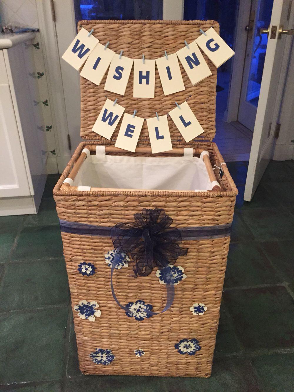 Baby Shower Wishing Well Gift Ideas  Beautiful wishing well and wishing well hamper is also a