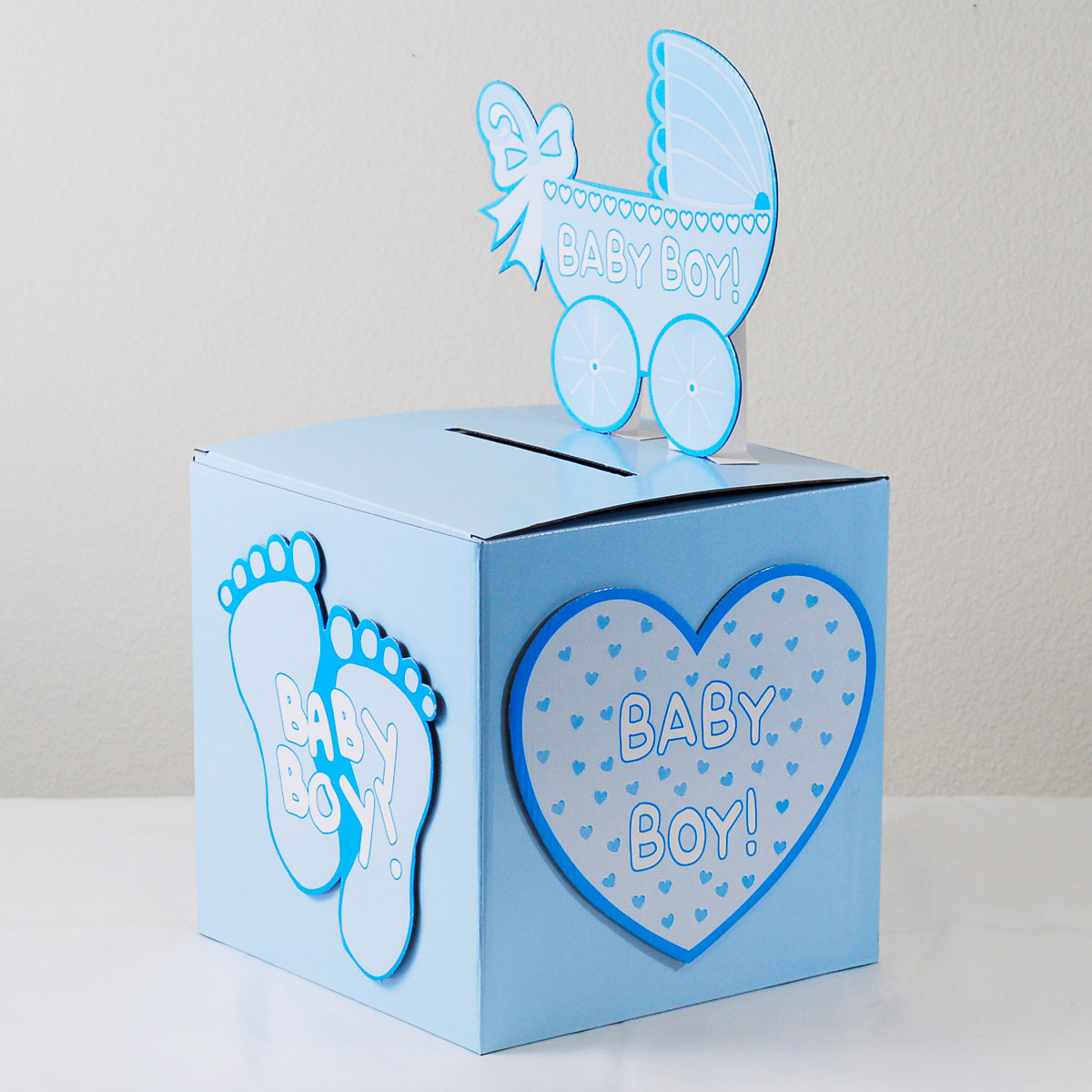 Baby Shower Wishing Well Gift Ideas  Baby Shower Wishing Well Card Gift Money Box Pink Girl