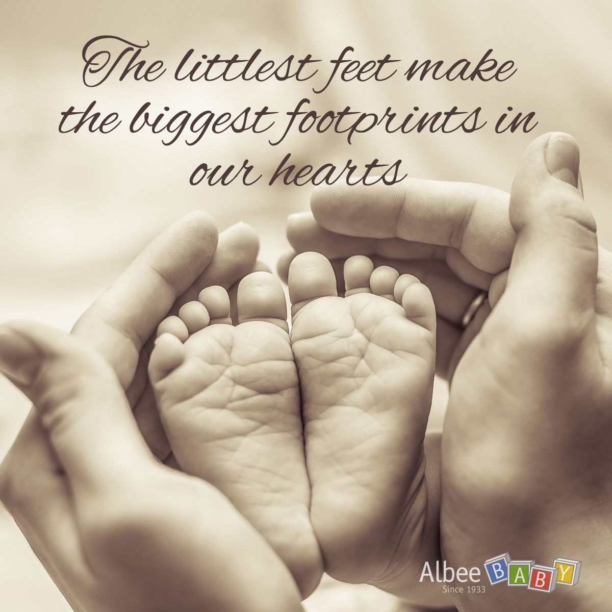 """Baby Toes Quotes  Perfect quote for your little ones """"The littlest feet"""