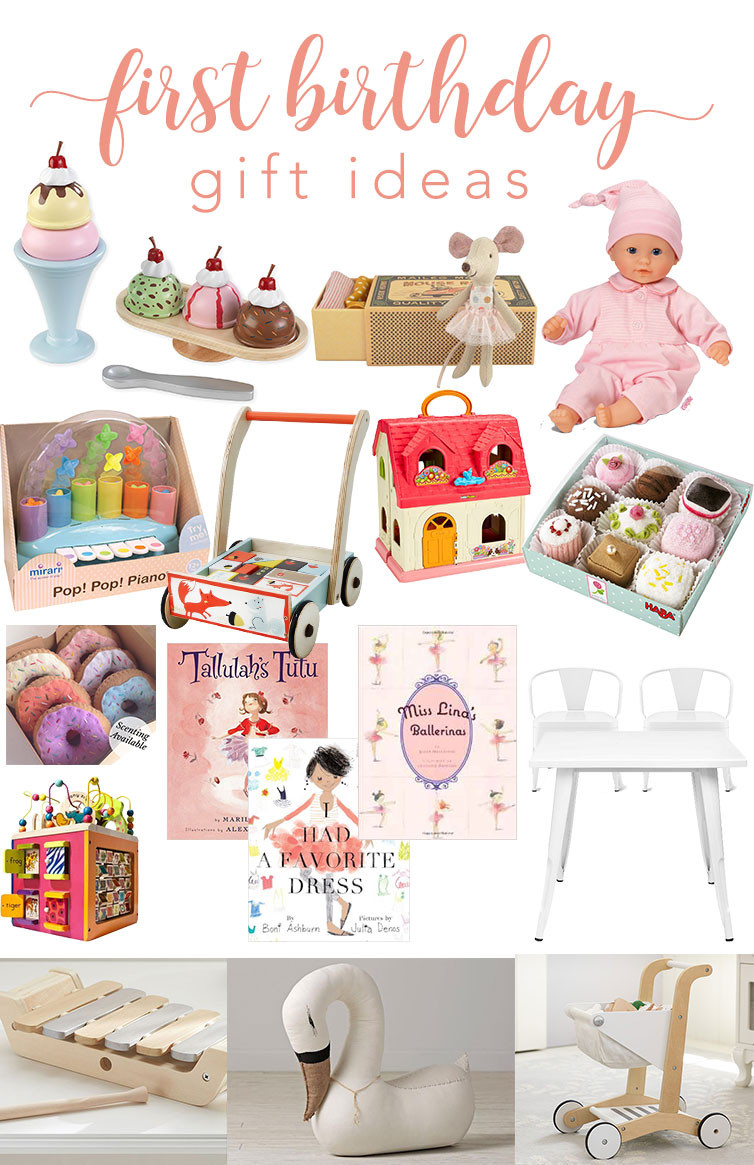 Baby'S First Birthday Gift Ideas  12th and White First Birthday Gift Ideas