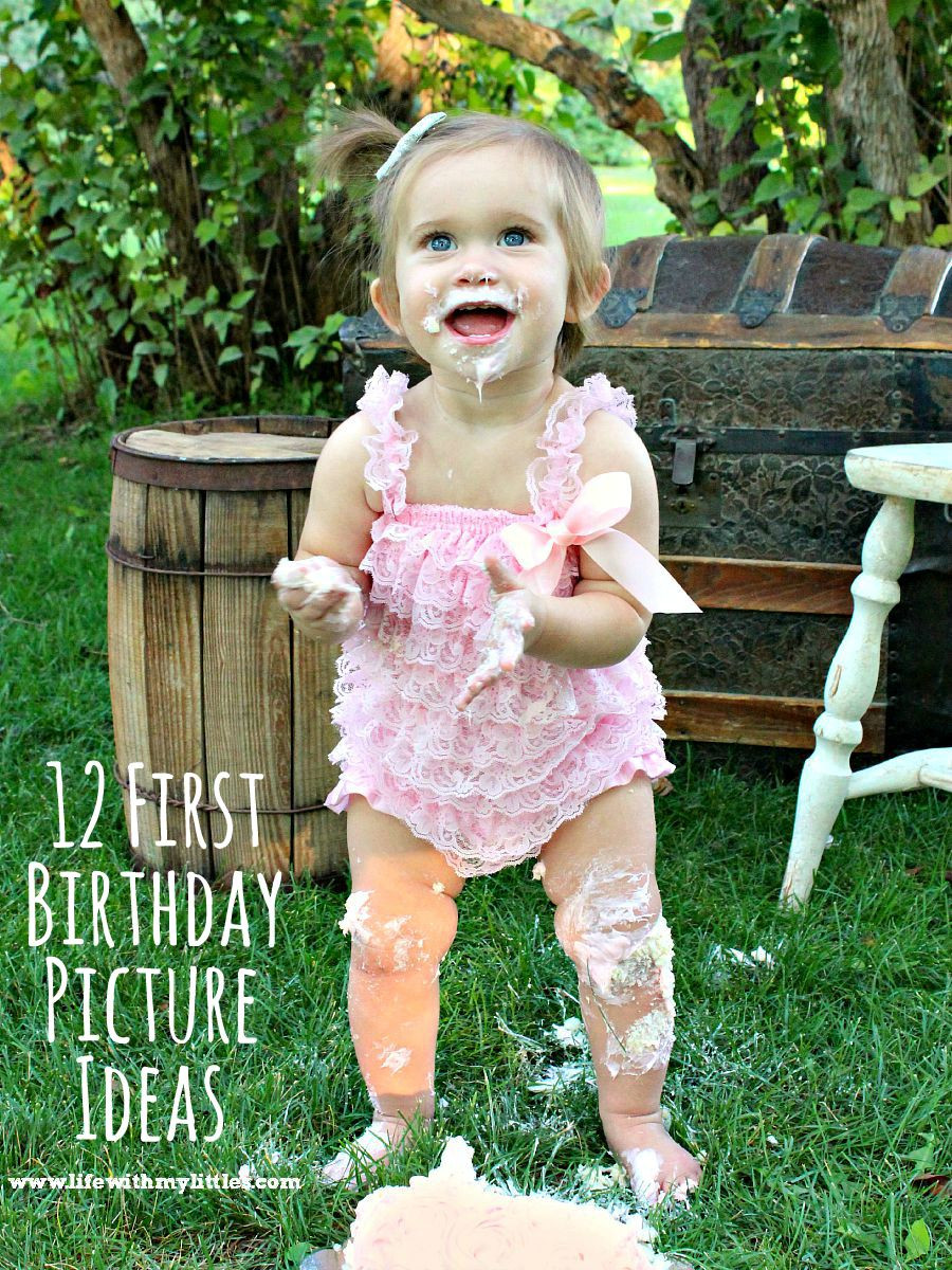 Baby'S First Birthday Gift Ideas  First Birthday Picture Ideas Life With My Littles