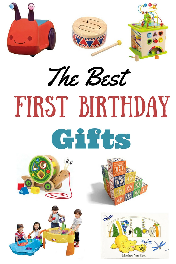 Baby'S First Birthday Gift Ideas  The Best Birthday Gifts for a First Birthday a Giveaway