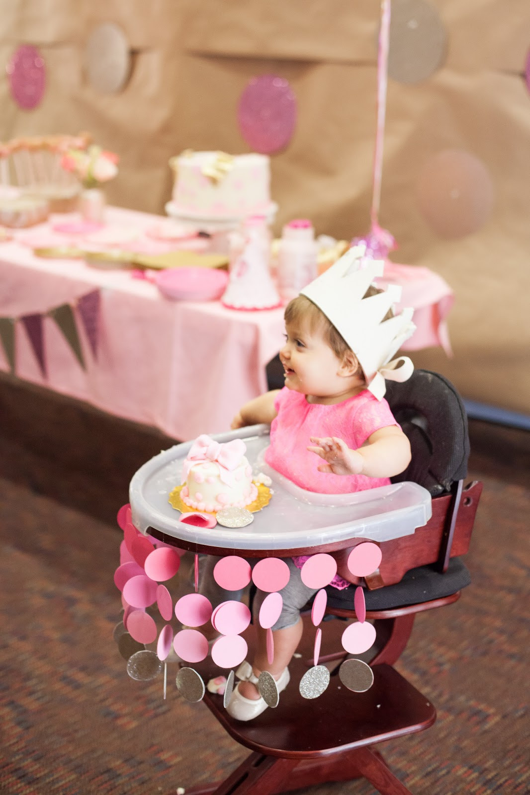 Baby'S First Birthday Gift Ideas  Nat your average girl 1st birthday party decor
