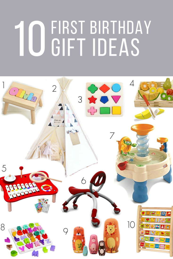 Babys First Birthday Gift Ideas  It s a ONE derful Life First Birthday Gift Ideas My