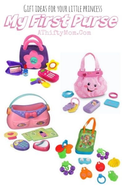 Babys First Birthday Gift Ideas  My First Purse Baby Girl Toddler t ideas for little