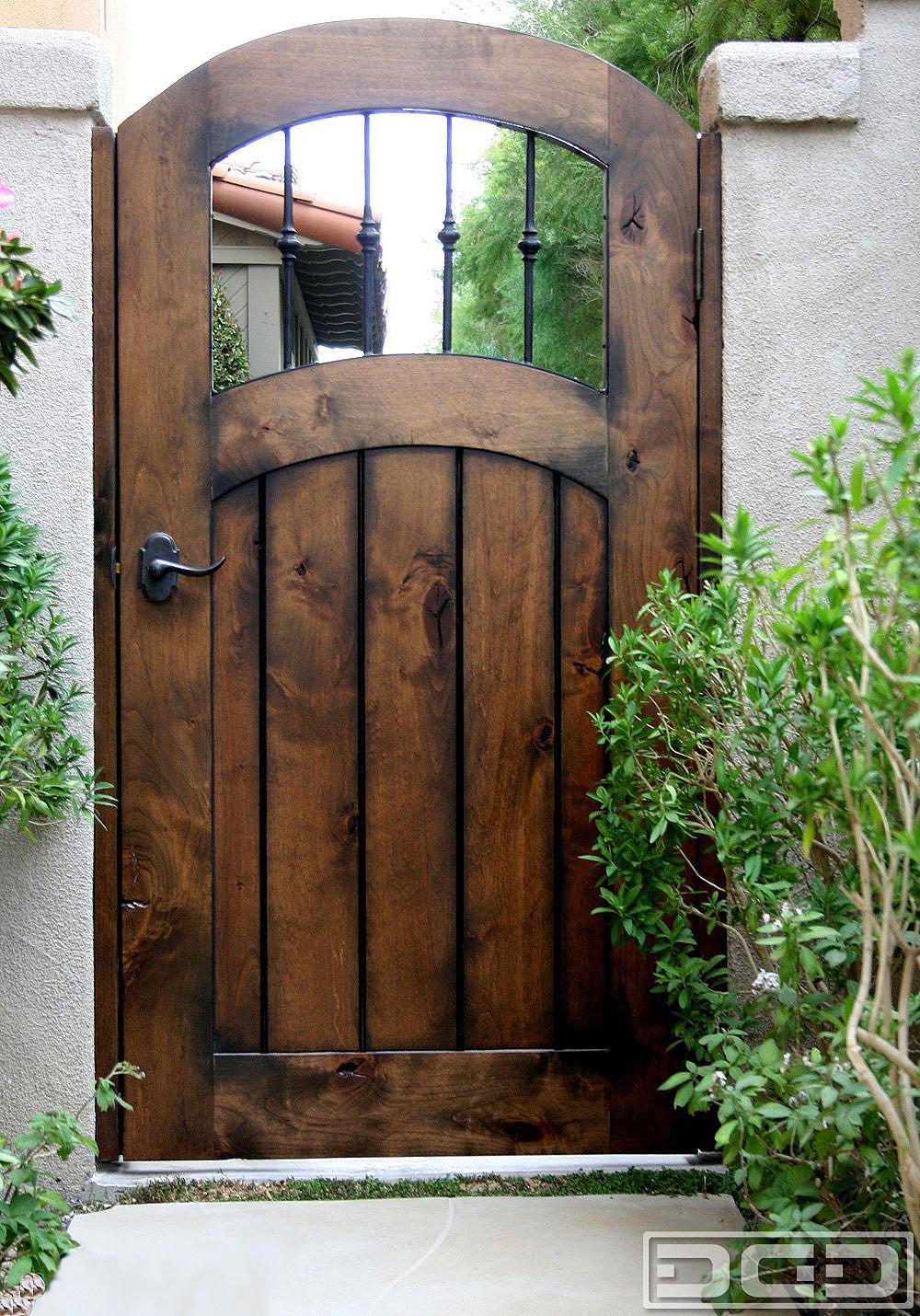 Backyard Fence Door  Architectural Gates 12
