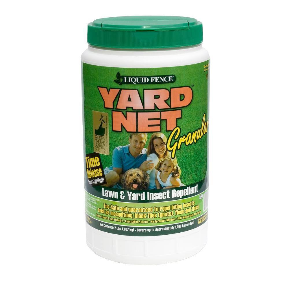 Backyard Fly Repellent  Liquid Fence Yard Net 2 lb Insect Repellent Granules HG