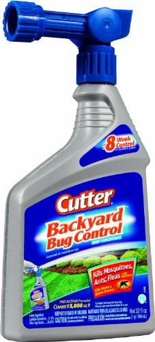 Backyard Fly Repellent  Cutter Backyard Bug Control 32 oz Ready to Spray Hose End