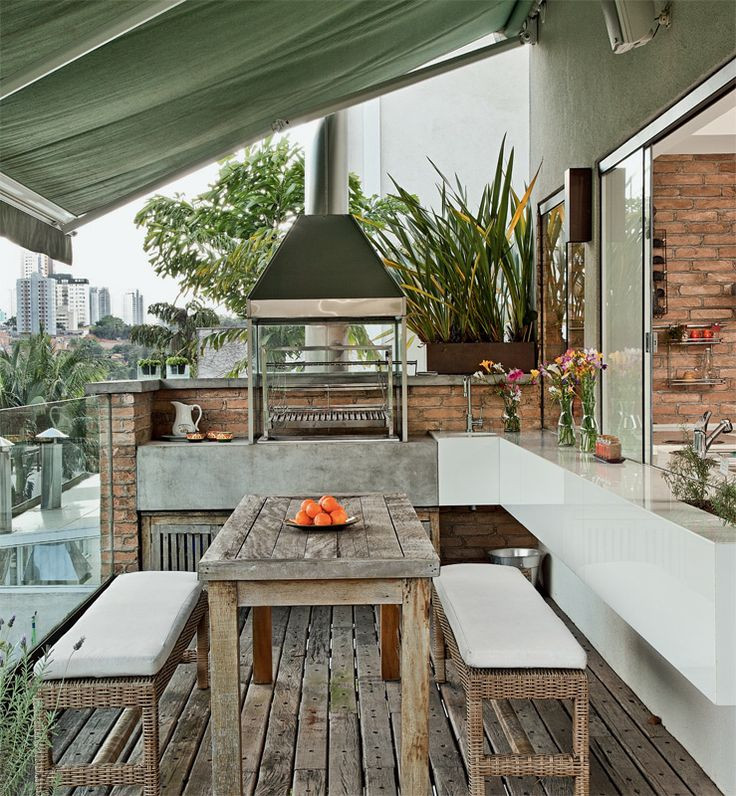 Backyard Grilling Areas  29 Cool Outdoor Barbeque Areas