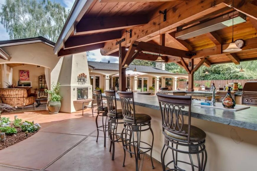 Backyard Grilling Areas  30 Grill Gazebo Ideas to Fire Up Your Summer Barbecues