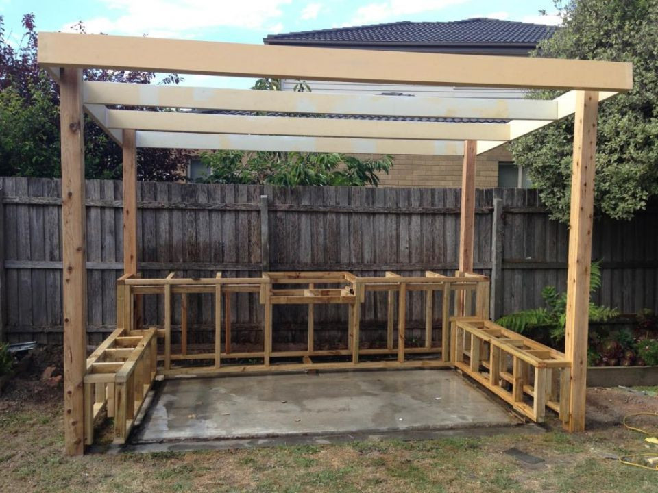 Backyard Grilling Areas  Outdoor BBQ Entertaining Area Landscaping Services
