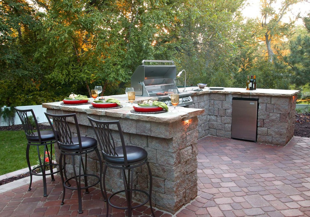 Backyard Grilling Areas  13 Upgrades to Make Over Your Outdoor Grill Area