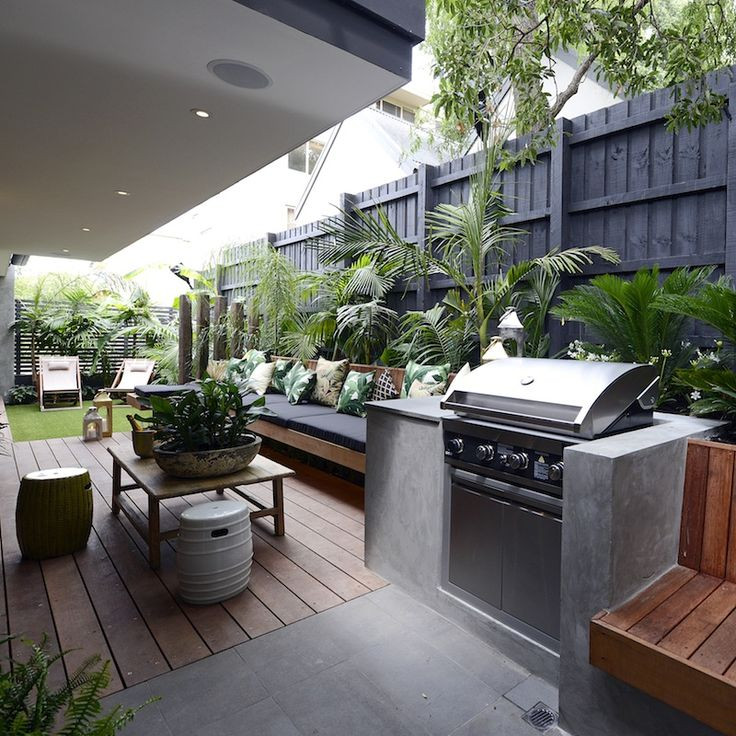 Backyard Grilling Areas  BBQ Area Design Ideas For Summer