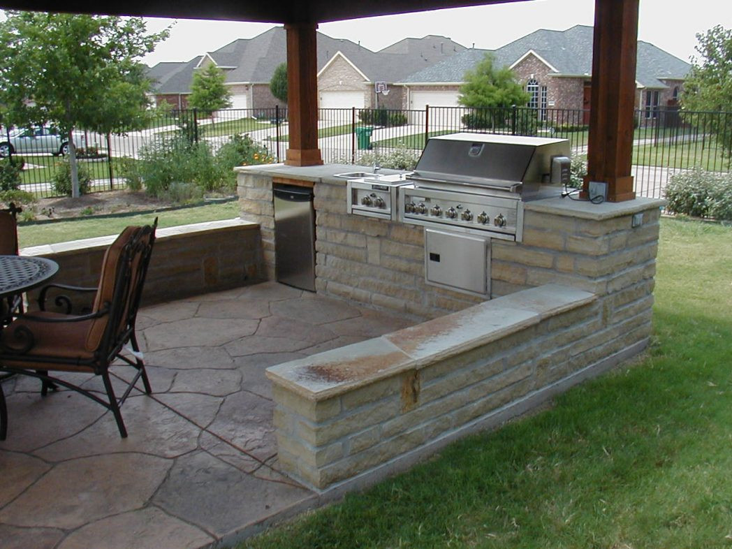 Backyard Grilling Areas  12 Genius Concepts of How to Build Cheap Backyard Bbq