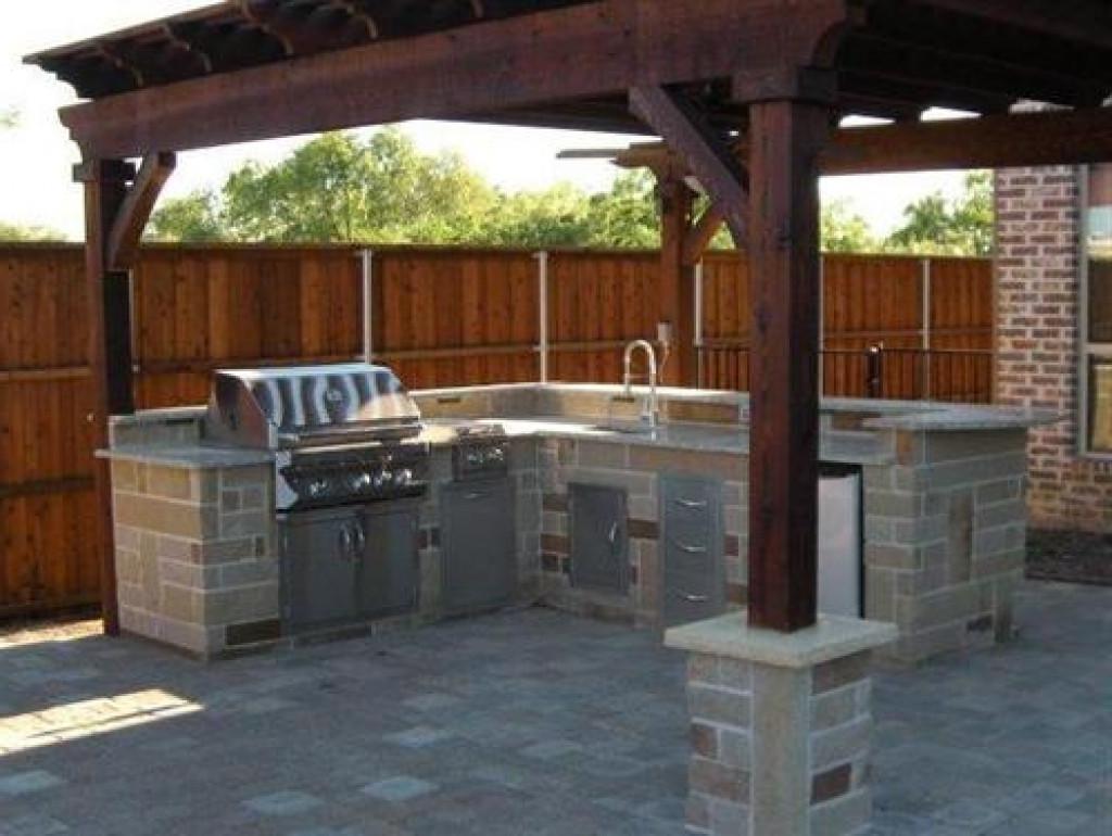 Backyard Grilling Areas  Designs Patio Backyard Barbecue – recognizealeader