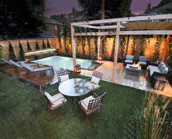 Backyard Ideas For Small Yard  28 Fabulous Small Backyard Designs with Swimming Pool