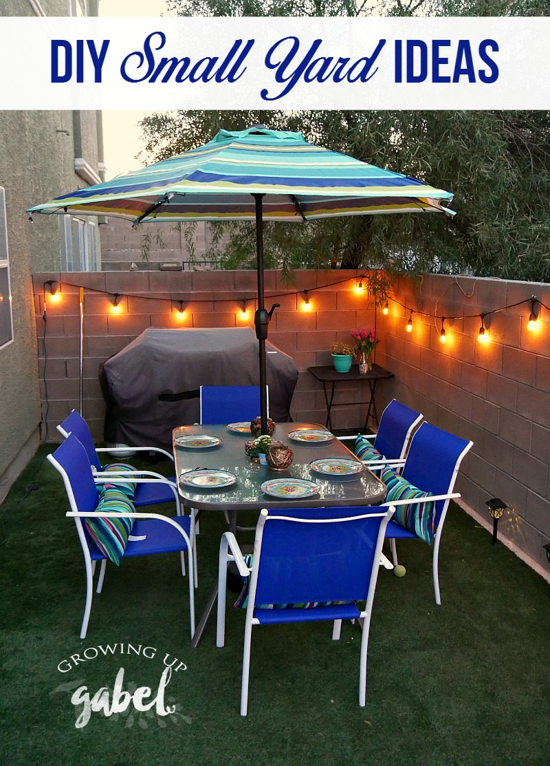 Backyard Ideas For Small Yard  3 Small Backyard Ideas to Create an Outdoor Oasis