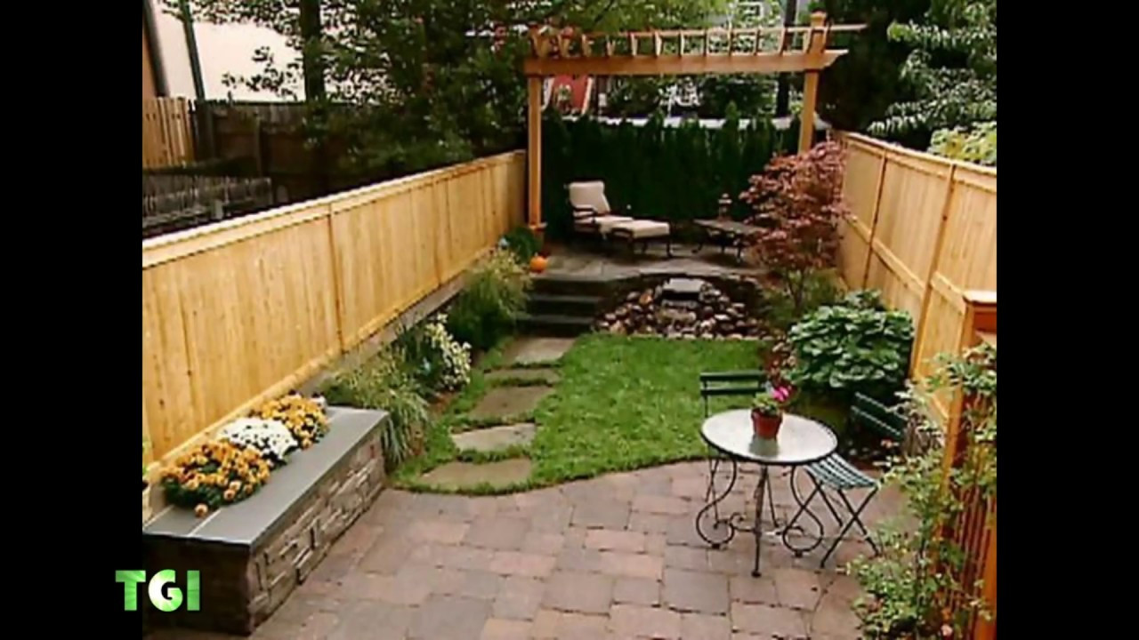 Backyard Ideas For Small Yard  60 Cool Small Backyard Landscaping Ideas