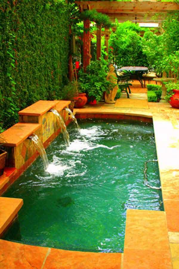 Backyard Ideas For Small Yard  25 Fabulous Small Backyard Designs with Swimming Pool
