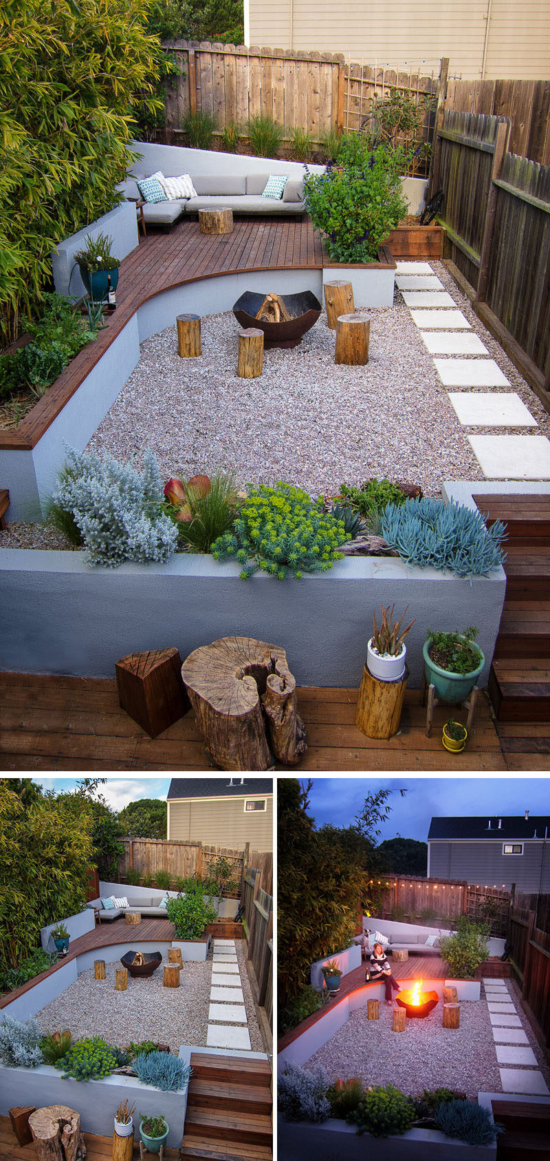 Backyard Ideas For Small Yard  This Small Backyard In San Francisco Was Designed For