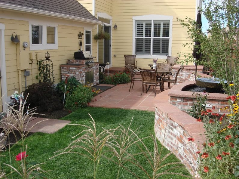 Backyard Ideas For Small Yard  Small Yard Landscapes Landscaping Network