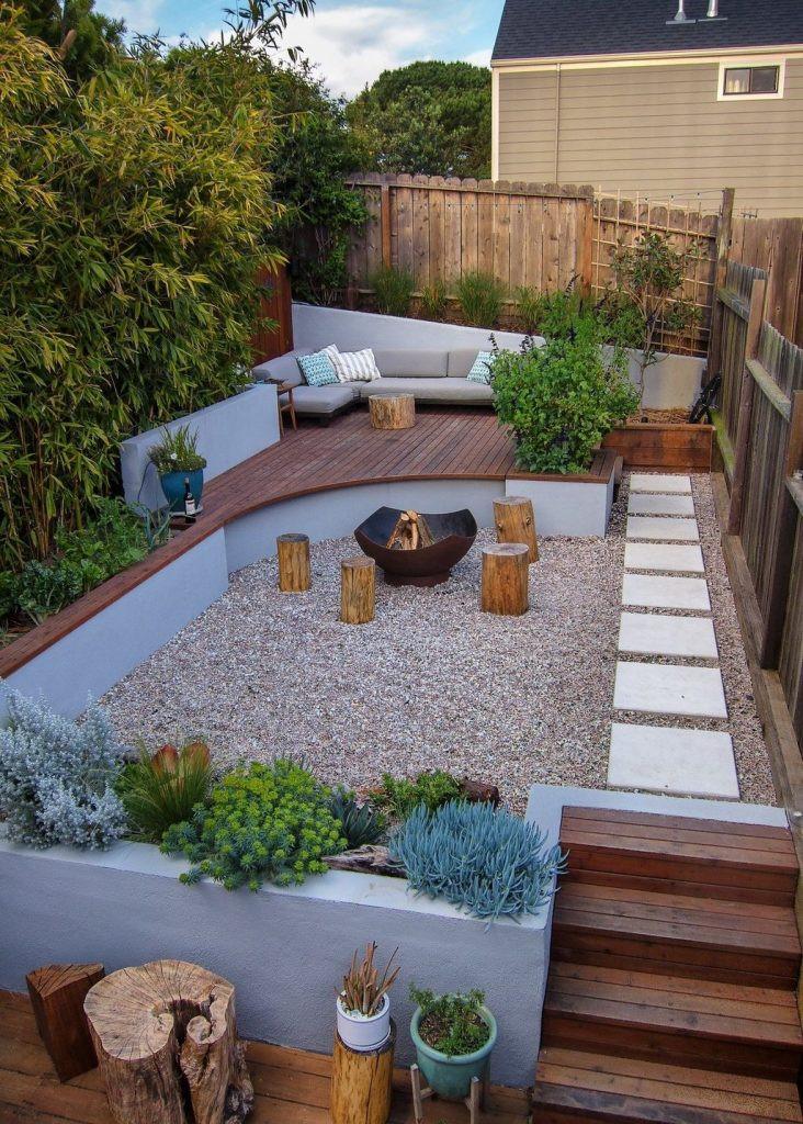 Backyard Ideas For Small Yard  30 Perfect Small Backyard & Garden Design Ideas Page 21