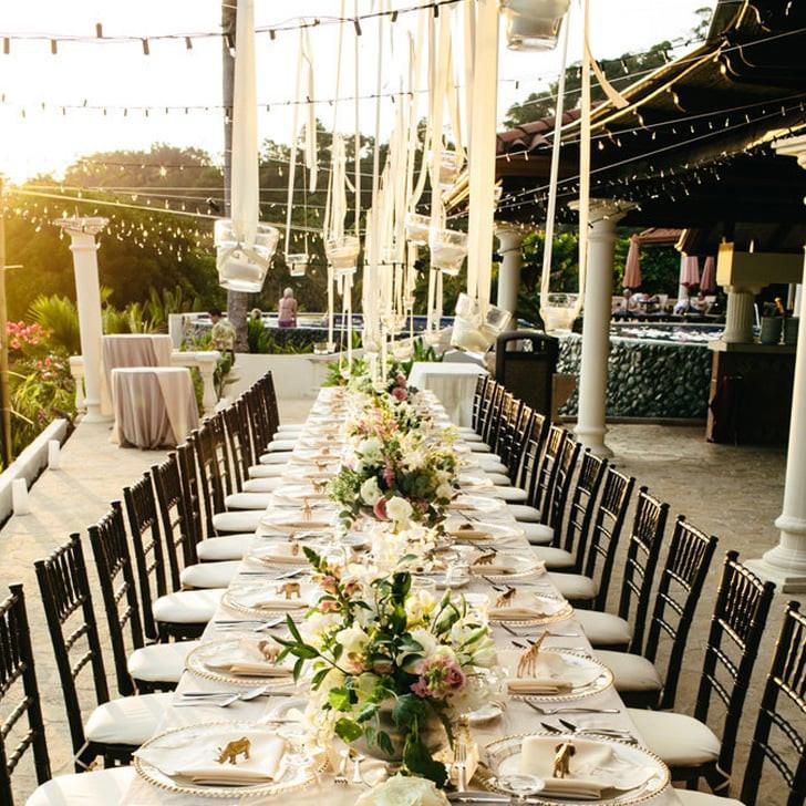 Backyard Wedding Receptions  Ideas For Outdoor Wedding Reception Tables