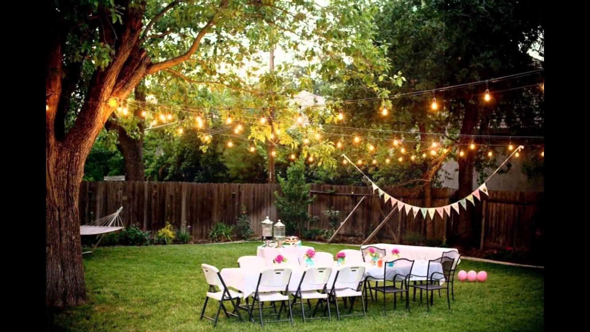 Backyard Wedding Receptions  Wedding Trends Archives Chicago Wedding Blog