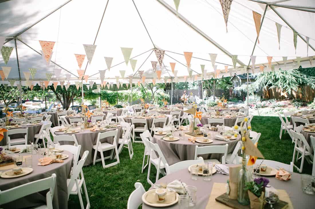Backyard Wedding Receptions  DIY Backyard BBQ Wedding Reception Snixy Kitchen