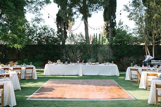 Backyard Wedding Receptions  Fruit Stand Backyard Wedding Reception