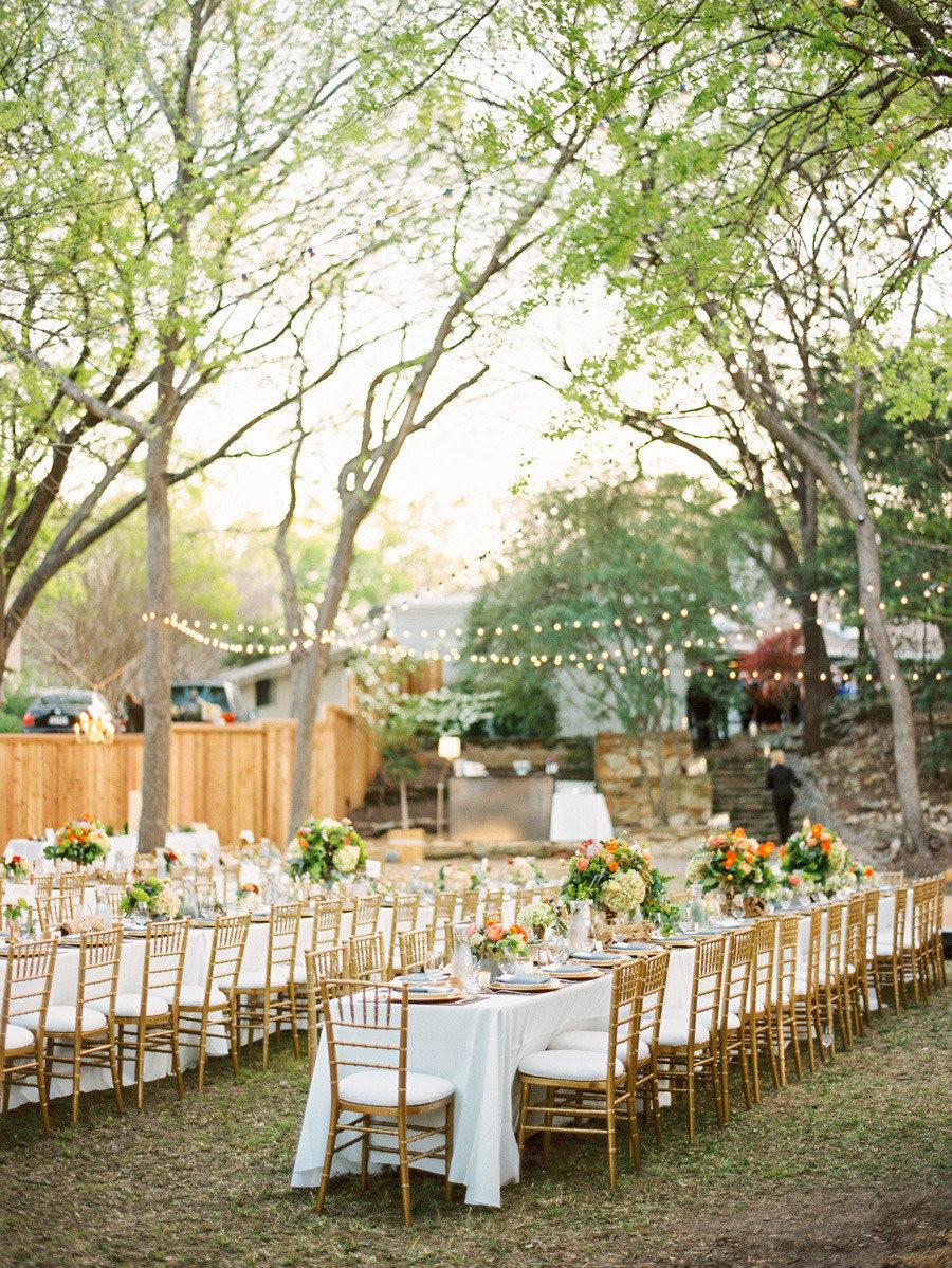Backyard Wedding Receptions  Stylish Outdoor Wedding Reception Ideas