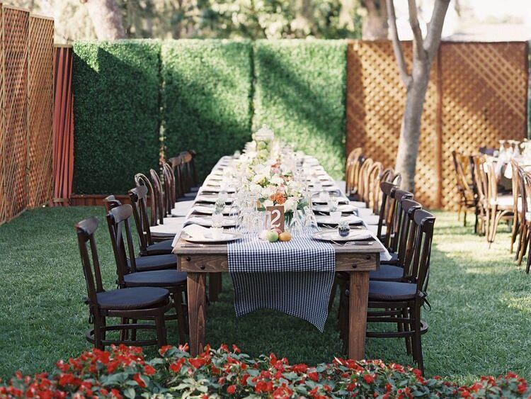 Backyard Wedding Receptions  Wedding Receptions At Home Wedding Secrets