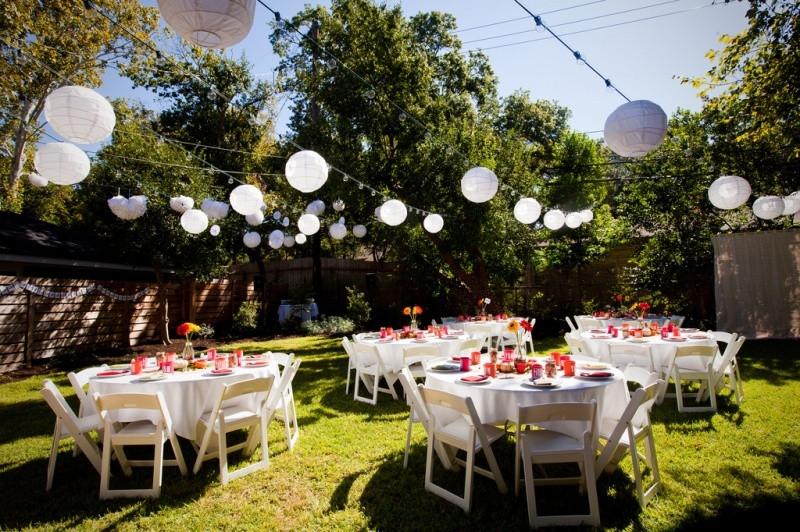 Backyard Wedding Receptions  6 Simple Tips for Brides to Plan your DIY Backyard Wedding