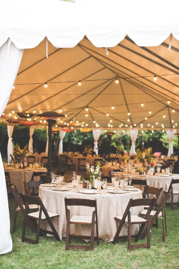 Backyard Wedding Receptions  20 Great Backyard Wedding Ideas That Inspire Oh Best Day