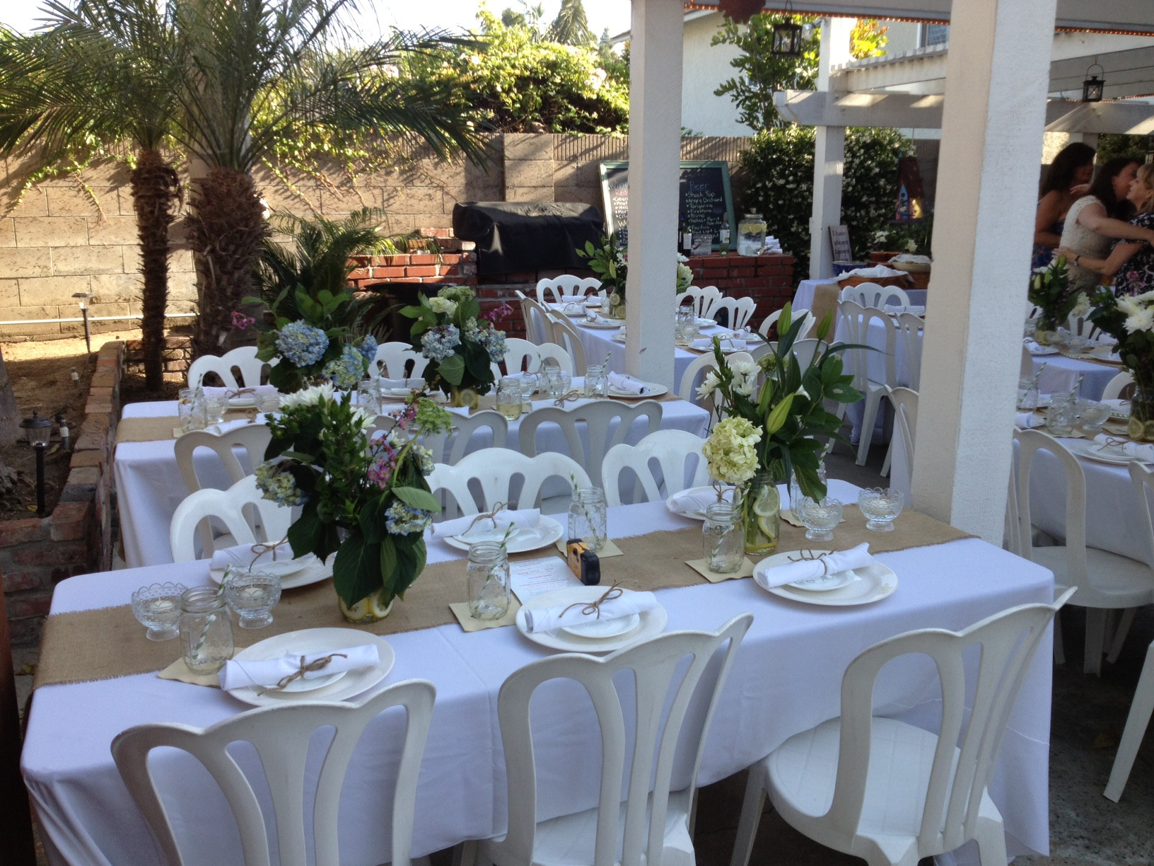 Backyard Wedding Receptions  Backyard DIY Wedding Reception