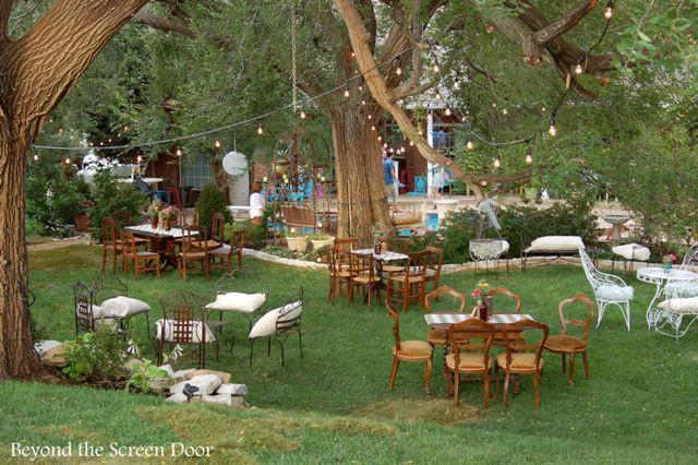 Backyard Wedding Receptions  Backyard Wedding Reception Sonya Hamilton Designs