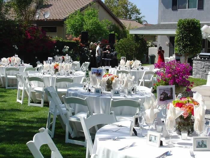 Backyard Wedding Receptions  Backyard Wedding Ideas Wedding Ideas
