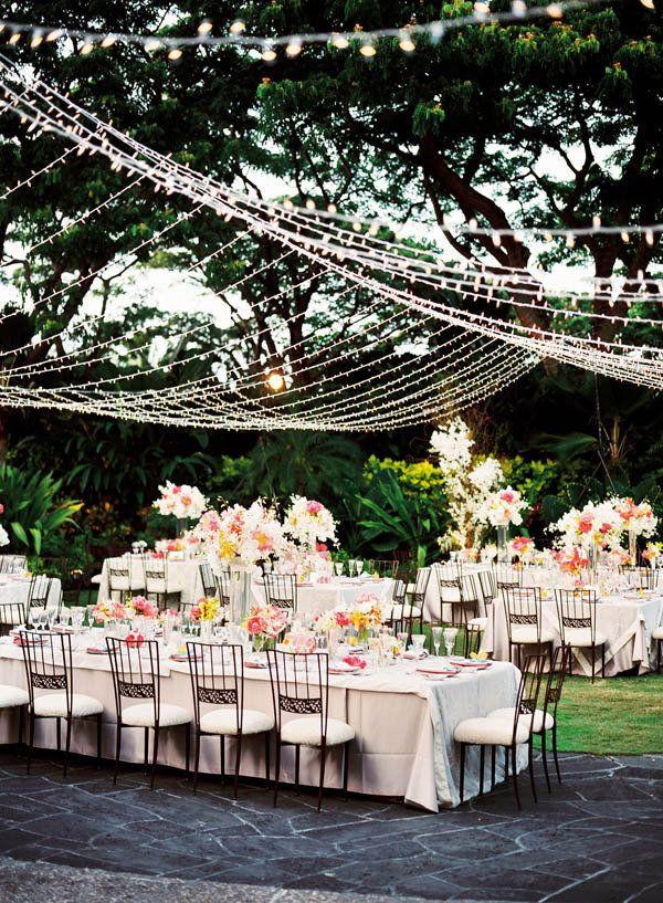 Backyard Wedding Receptions  Outdoor Wedding Reception Ideas To Make You Swoon