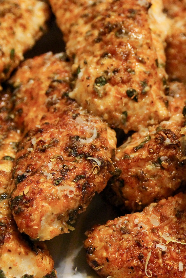Baked Chicken Tenderloin Recipes  Low Carb Baked Chicken Tenders The Chunky Chef