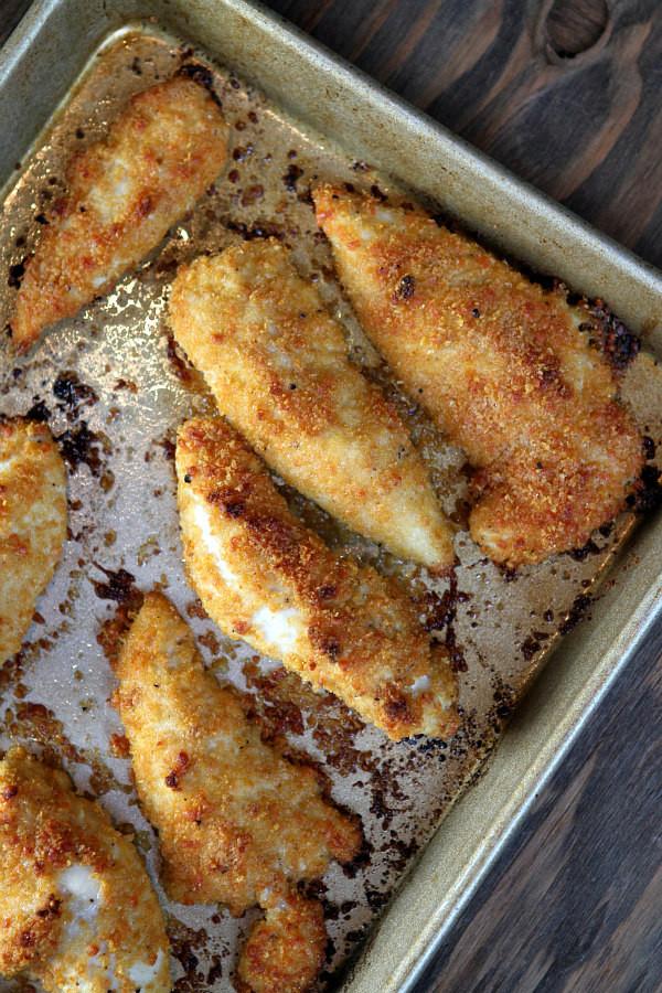 Baked Chicken Tenderloin Recipes  Baked Parmesan Chicken Tenders