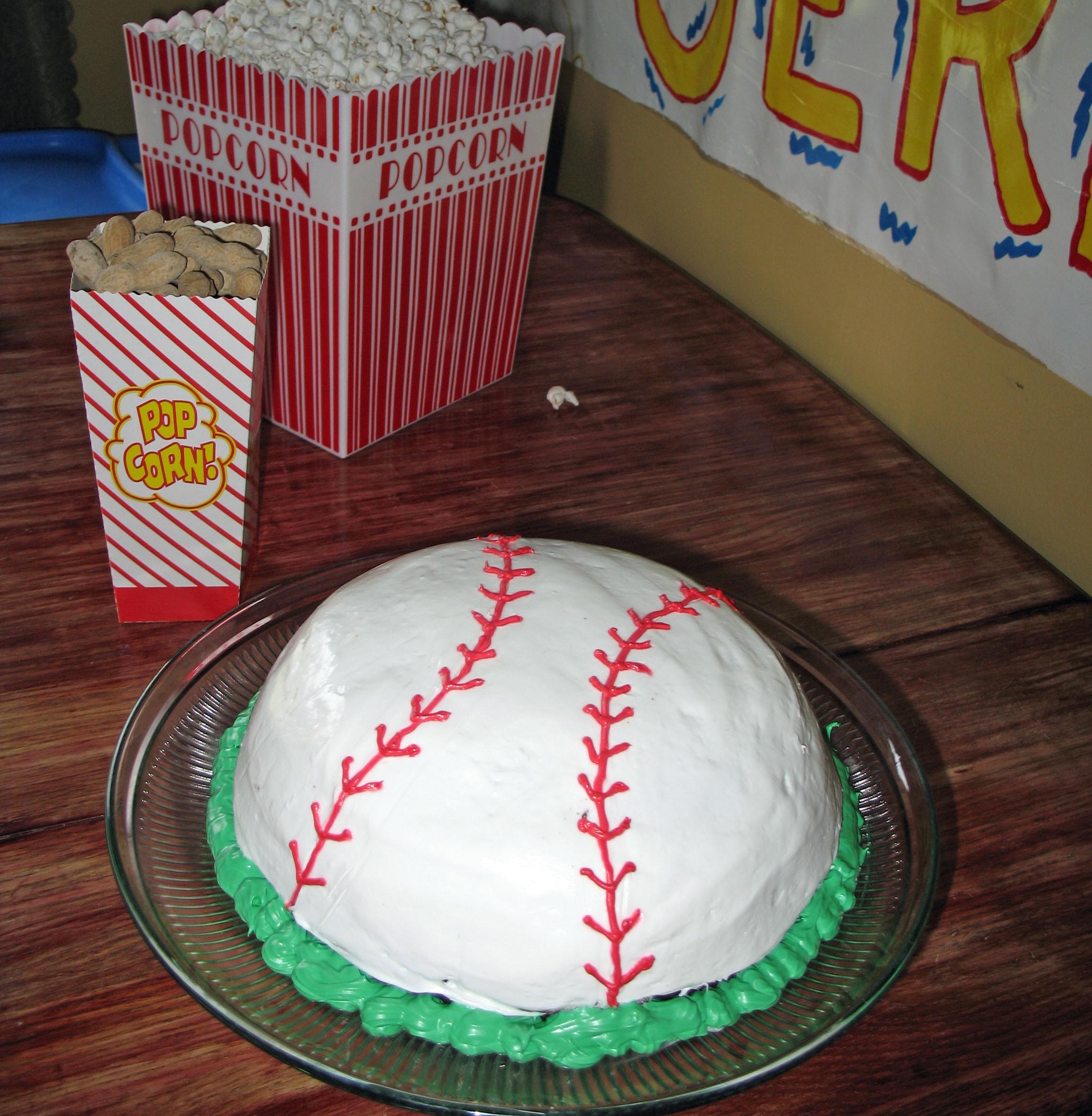Baseball Birthday Cake  Birthday Traditions Those Crazy Cakes