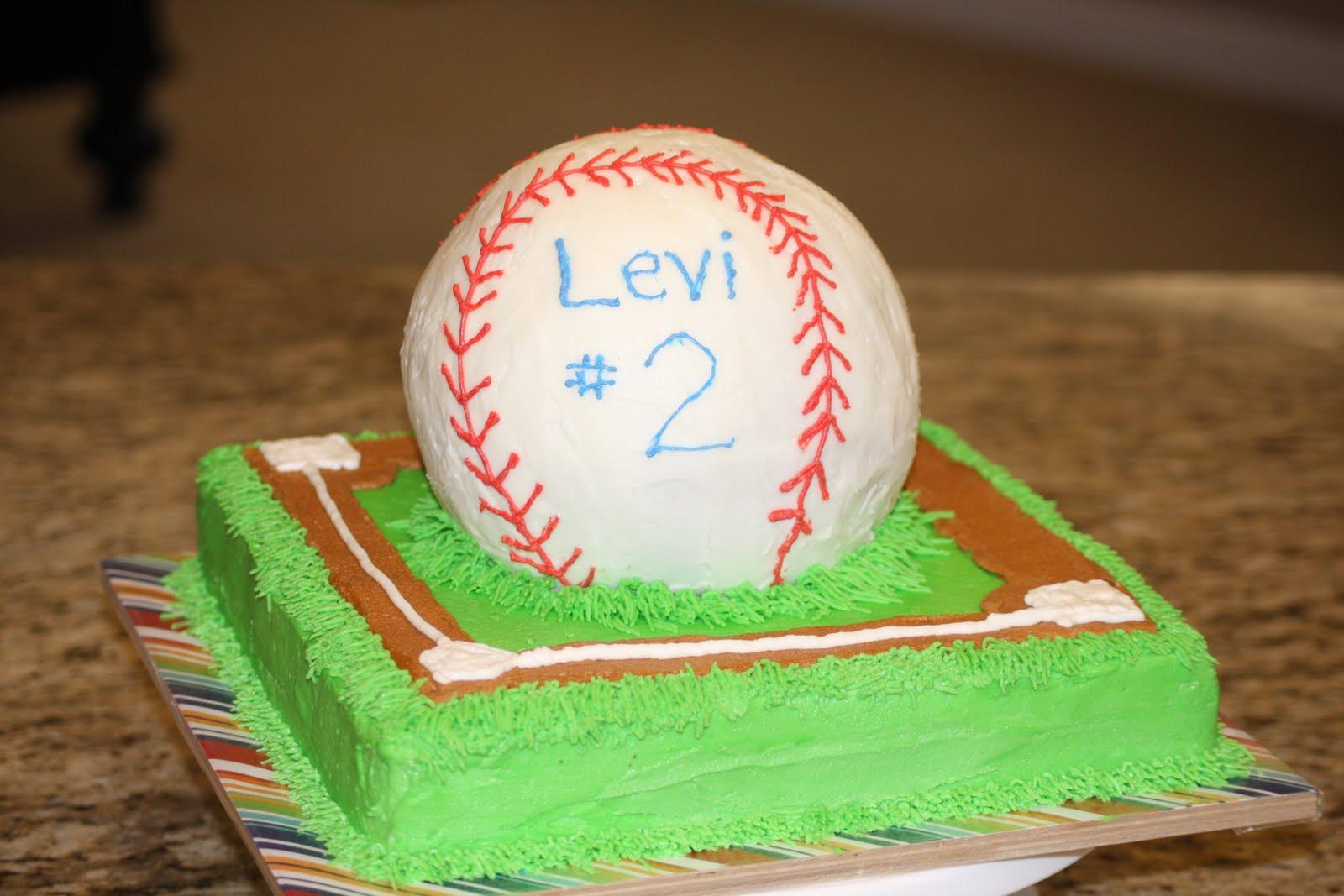 Baseball Birthday Cake  Monkeys In My Bed Baseball Birthday Cake