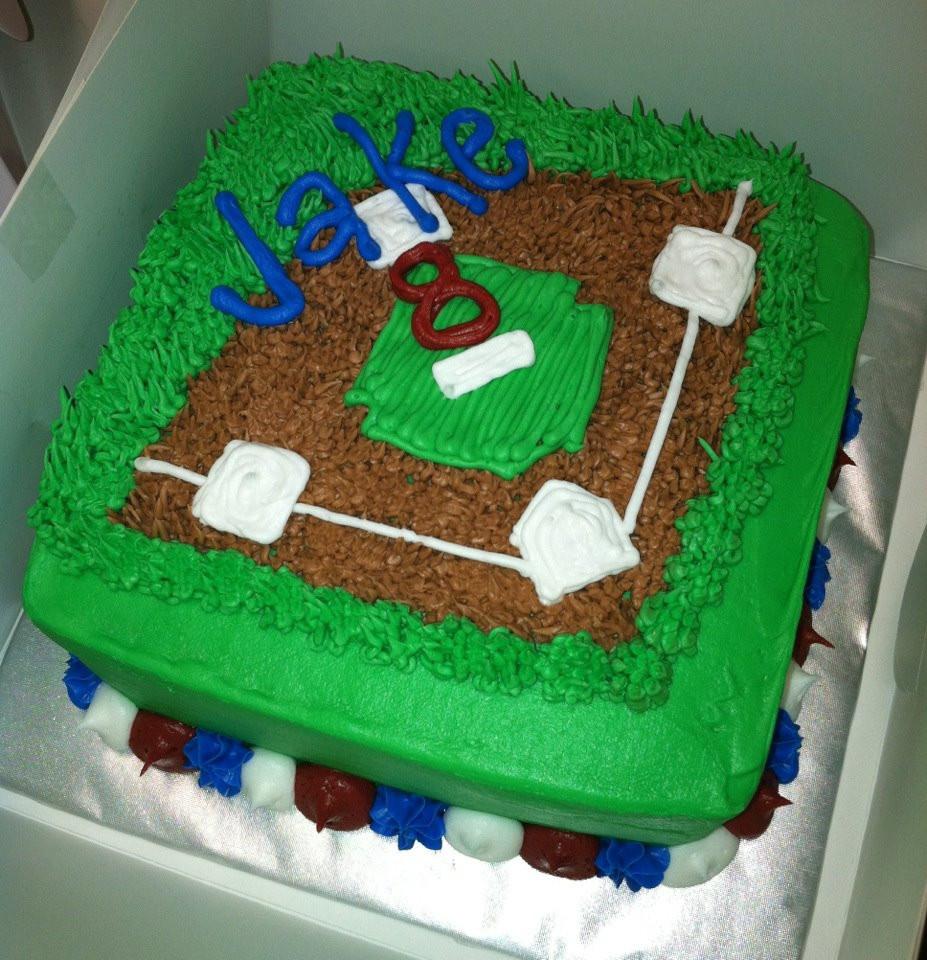 Baseball Birthday Cake  Sweet Treats by Susan Playing Catch Up