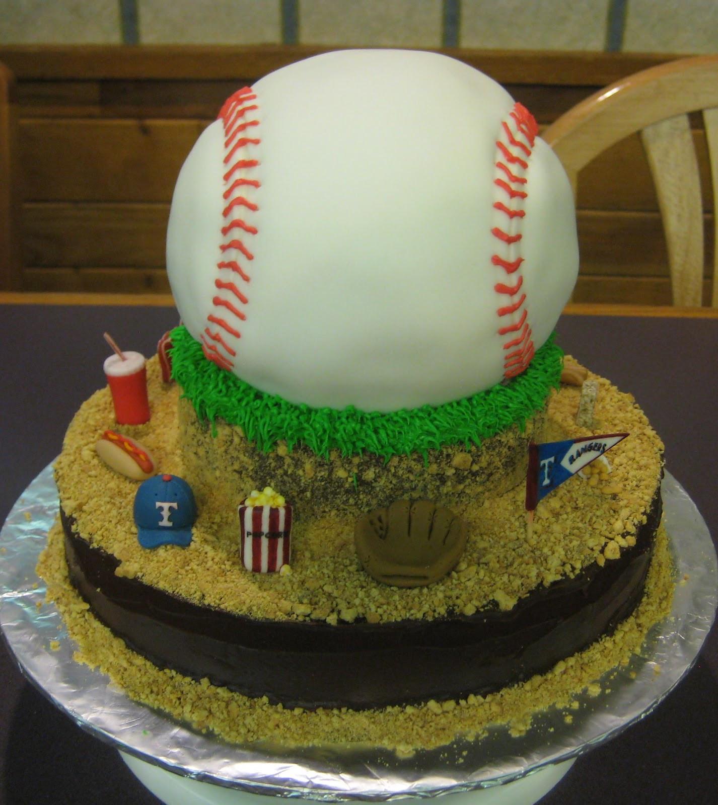 Baseball Birthday Cake  My Cake Corner Take Me Out to the Ball Game