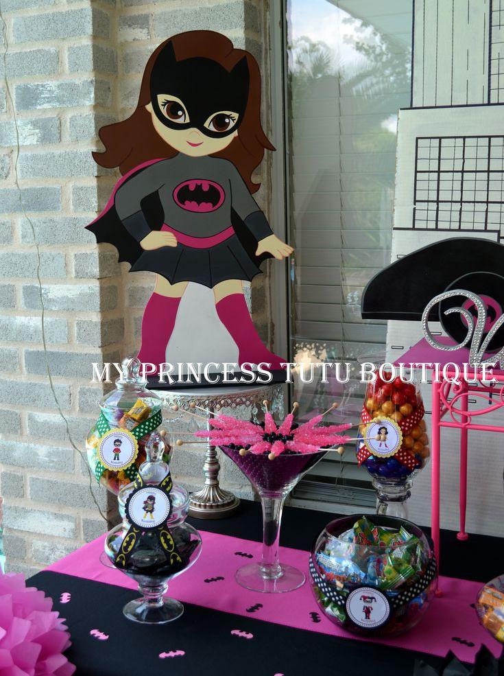 Batgirl Birthday Party Supplies  Girls superhero birthday party ideas Batgirl birthday