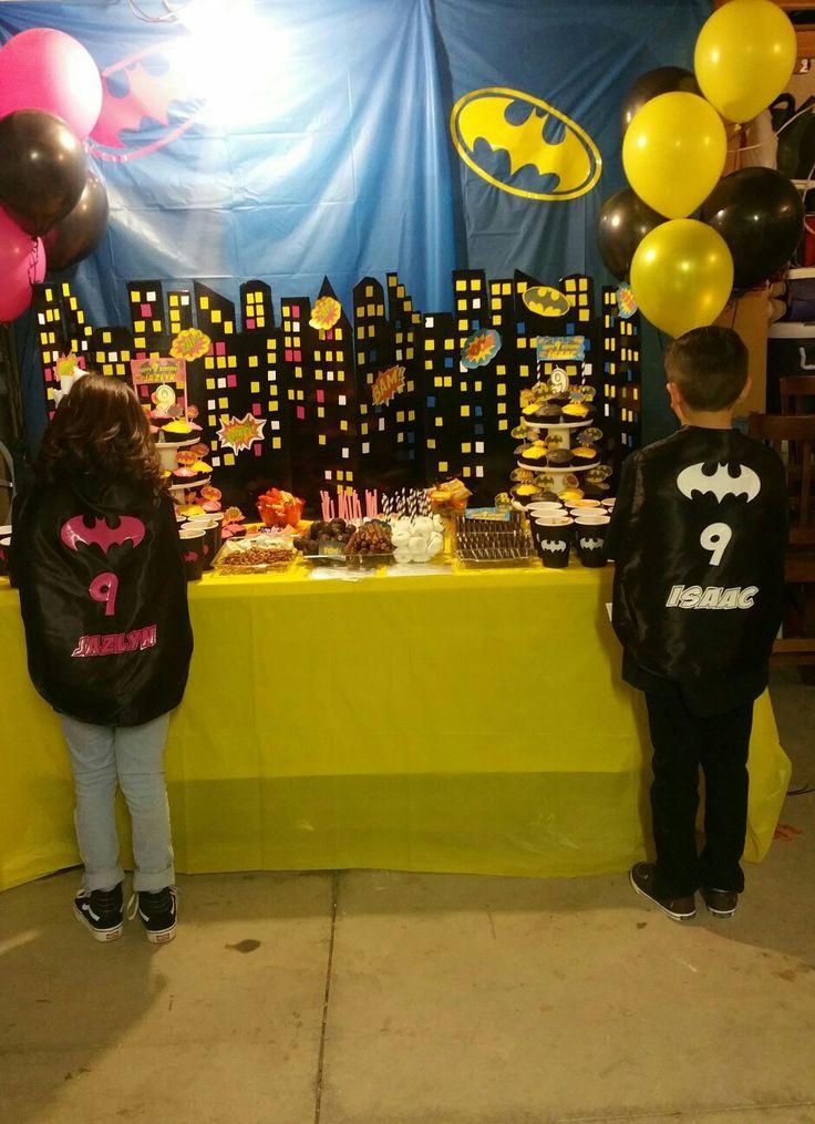 Batgirl Birthday Party Supplies  Batman and batgirl birthday party ideas Uni birthday