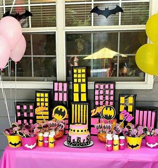 Batgirl Birthday Party Supplies  Batgirl Birthday Theme …
