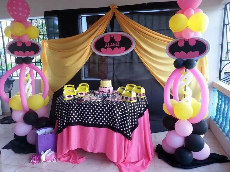 Batgirl Birthday Party Supplies  bat girl party Google Search