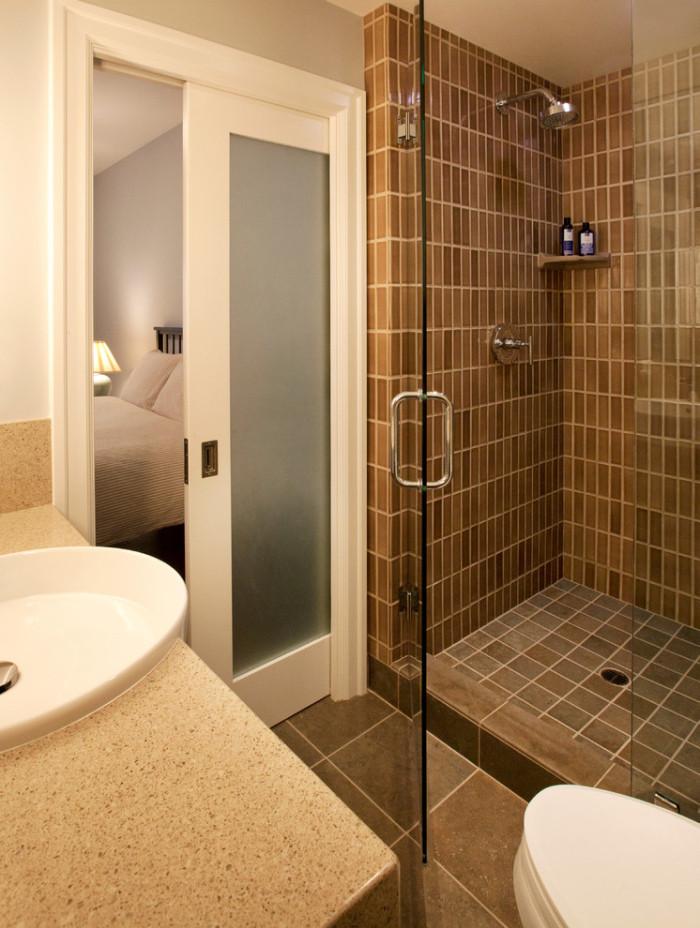 Bathroom Door Design  Pocket door bathrooms Ideas